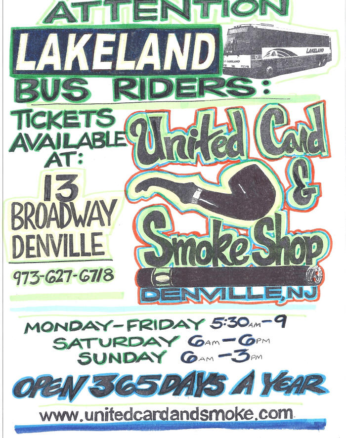 Lakeland bus tickets